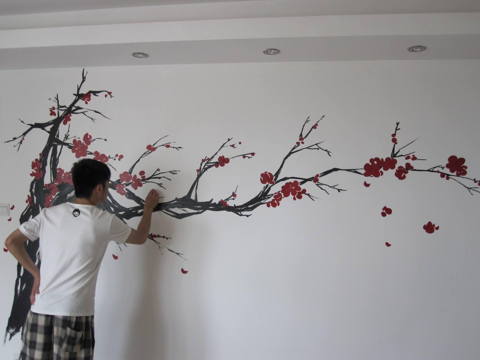 赣州手绘背景图,赣州背景图手绘,赣州手绘背景,赣州室内墙绘
