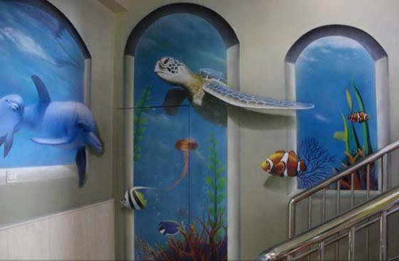 赣州墙体画,赣州墙绘3d画,赣州壁画公司,赣州画图公司,赣州彩绘文化墙
