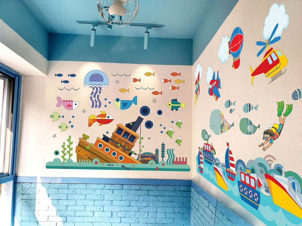 赣州立体画彩绘,赣州手绘彩绘墙,赣州立体画,赣州手绘墙体,赣州墙绘3d